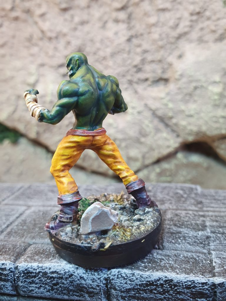 Gern Longtooth 1 - Half-Orc Monk - Kern-SteamForgeGames-CirticalRole_limmited_edition
