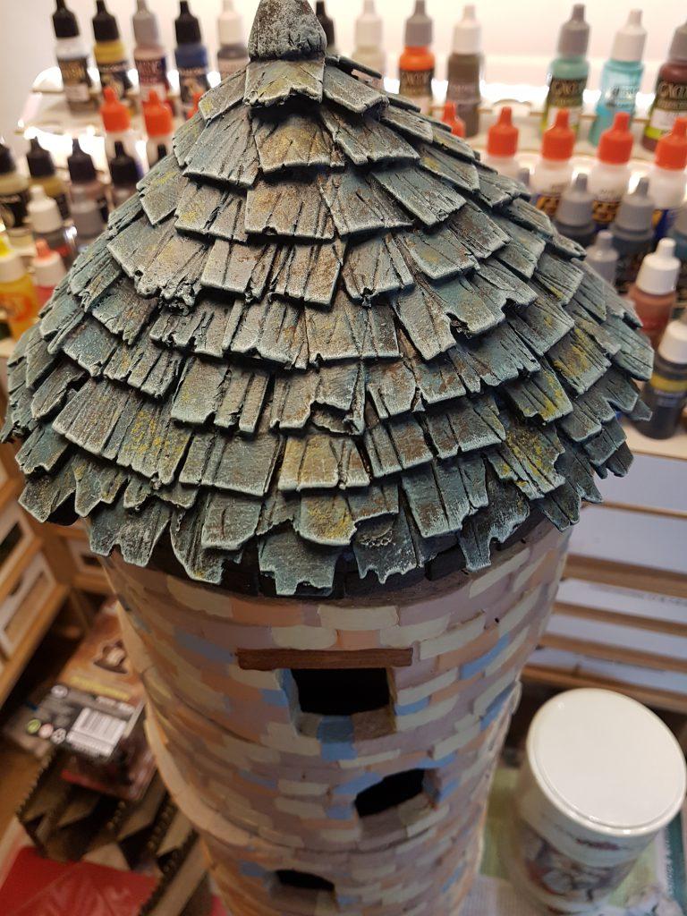 Een oude toren - modulair