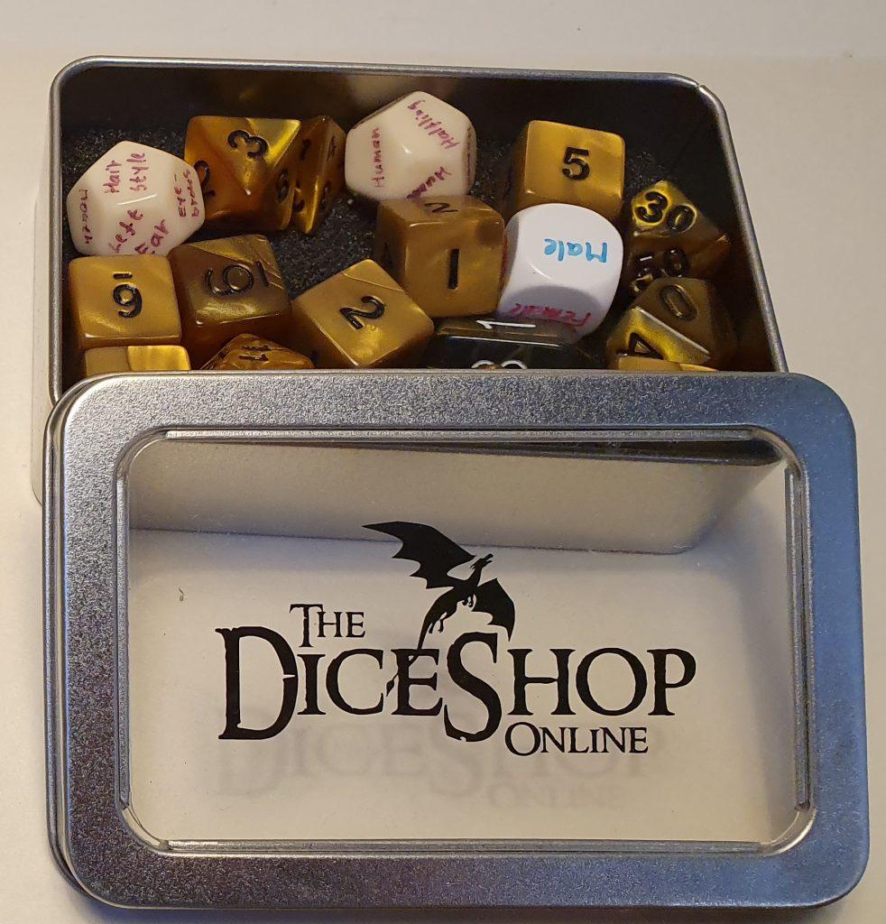 NPC - Custom Dice Set