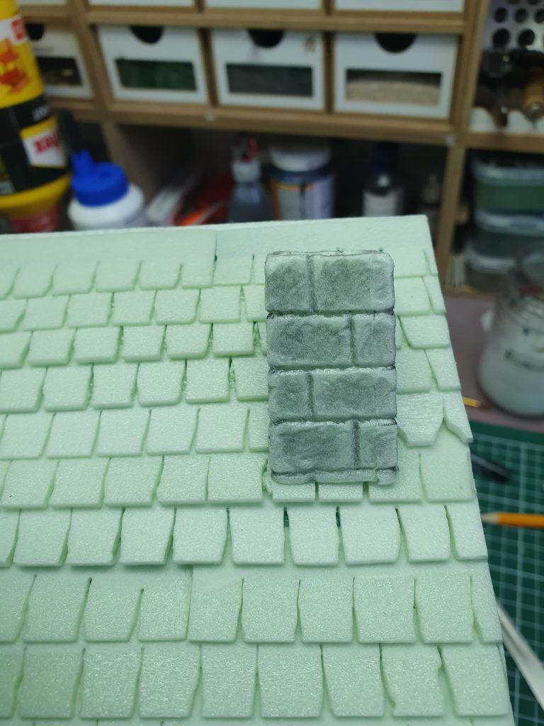 Huizen Details - Schoorsteen van baksteen