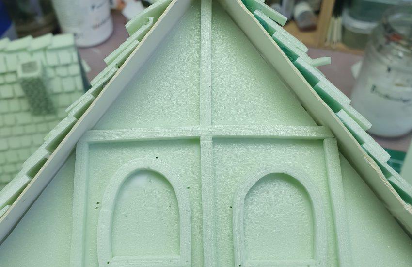 Details op huizen - Houtwerk en ramen