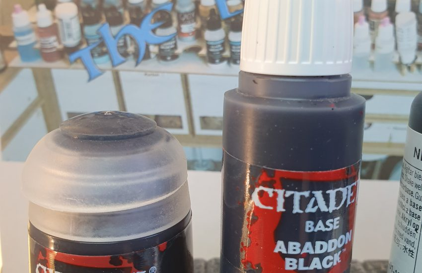 Citadel in paintpot and in eyedropper